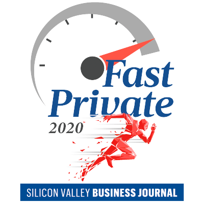 Fast private 2020 silicon valley business journal's logo